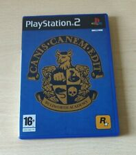 PS2 CANIS CANEM EDIT  PAL UK  ITA PLAYSTATION 2 COMPLETO DI MAPPA  COME NUOVO