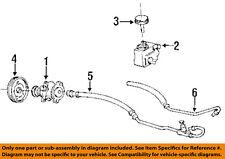 Pontiac GM OEM 92-94 Sunbird Pump Steering Pump-Pulley 10116296