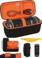 Bovke Carrying Case for Gps Bluetooth Speaker Charging Cords & Accessories Black