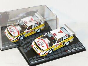 1/43 Audi Quattro Sport E2   Rally Sanremo 1985   W.Rohrl / C.Geistdorfer