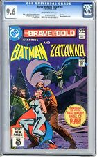 Brave and the Bold  #169  CGC  9.6  NM+   Off White to White Pages
