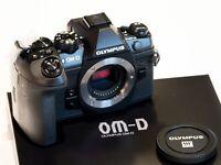 Olympus OM-D E-M1 Mark II Gehäuse schwarz body black EM1 2 *NEU*