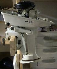 1993 JOHNSON 4hp 4 hp outboard damaged thread motor power head mid swivel mount