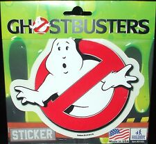 "Classic Original Ghostbusters ""No Ghost"" Logo Premium Vinyl Decal Bumper Sticker"