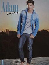 ADAM LAMBERT - A4 Poster (ca. 21 x 28 cm) - Clippings Fan Sammlung NEU