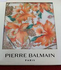 Pochette de costume, Mouchoir PIERRE BALMAIN - Handkerchief Signed - VINTAGE