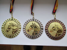 e101 Volleyball Pokal Kids 10 x Medaillen 50mm mit Band/&Emblem Turnier Pokale