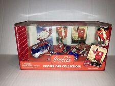 Johnny Lightning Coca-Cola Poster Car Collection Diecast 3 Car Set