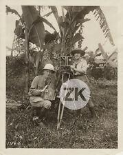 CINEASTES ANIMALIERS Documentaire WILD BEASTS IN BORNEO Camera Jungle Photo 1927