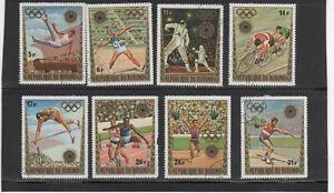 BURUNDI #399-403, C158-61  1972 20TH OLYMPIC GAMES MUN  MINT VF NH  O.G  CTO  a