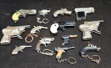 Vintage Lot of 13 Mini Cap Gun Keychains