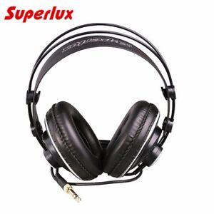 Superlux HD681B Headphones Wired Over Ear Semi Open Dynamic Studio Earphones