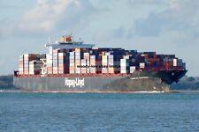 mp409 - German Container Ship - Tsingtao Express , built 2007 - photo 6x4
