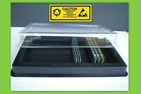 DIMM Memory Shipping Case Tray for DDR DDR2 DDR3 Modules - Lot of 2 5 Trays  New