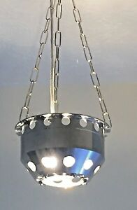 Light Fitting Recrafted from a Rolls Royce Jet Engine RGB Outer Casing