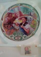 "Wizard of Oz ""Over the Rainbow"" Wall Clock. W/bonus Comm. Stamp!"