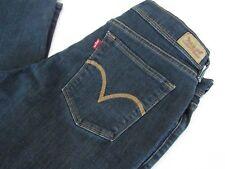 Levi's Womens Blue Denim Stretch Ankle Jeans, size 10