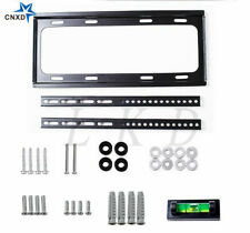 For LCD LED PLASMA FLAT TV SLIM WALL MOUNT BRACKET 26 30 32 37 42 46 50 52 55""