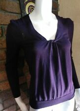 Wool Blend Dry-clean Only Solid Jumpers & Cardigans for Women