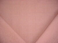 3-3/4Y ROBERT ALLEN DURALEE ROSEWOOD RED WHITE COTTON MASK UPHOLSTERY FABRIC
