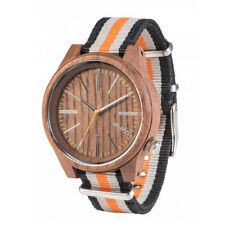 Orologio in legno WeWood - TORPEDO Nut Orange Wood Watch