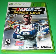 NASCAR The Game: Inside Line Microsoft Xbox 360 *Factory Sealed! *Free Shipping!
