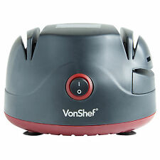 VonShef Electric Knife Sharpener With Scissor Screwdriver Honer Grinder