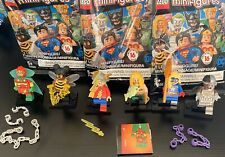 Lego Minifigure Lot Dc Comics Limited Edition Aqua Man Bumblebee+