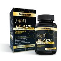 High T Black Caffeine Free - Testosterone Booster- 120 Capsules