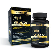 High T Black Caffeine Free - Testosterone Booster- 120 Capsules