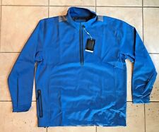 Nike Golf Half-Zip Nike Sphere Pro Pullover Coverup/Jacket-Blue-Large -Nwt