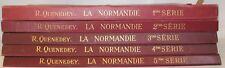 QUENEDEY La Normandie recueil architecture civile Normandie 320 planches 1927