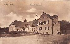 Stolp Pommern Waldkater Restaurant Ansichtskarte