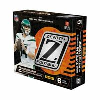 2020 Panini Zenith Football Hobby Box IN HAND