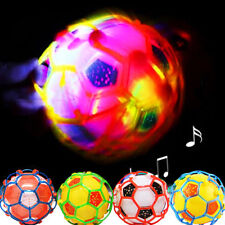LED Light Bouncing Ball Kids Baby Soccer Crazy Music Football Childrens Toy