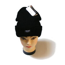 Cappelli da donna berretto nero acrilico