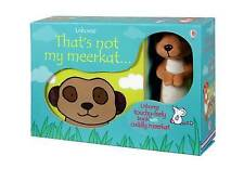 That's Not My Meerkat Book and Toy by Fiona Watt (Novelty book, 2015)