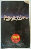 Twilight Zone The Movie, Special Edition - Not for Sale, Paperback. Warner 1983.