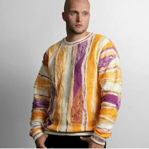 COOGI Purple and Gold 50 Crewneck, Limited Edition BRAND NEW