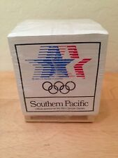 1984 Olympics ~ Southern Pacific ~ NOTE PADS !! Factory Sealed !!