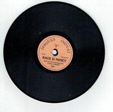 78T 15cm GARDE REPUBLICAINE Pygmo Disque Phonographe MARCHE PROPHETE -INOVAT 537
