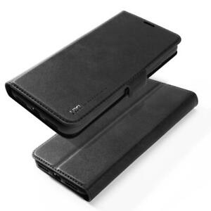 Samsung S10/ S10 Plus Luxury Leather Book Flip Cover with Card and Money Slots.