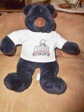 "Bear College Ohio State shirt Black Brown All Greek To Me 12"" Stuffed Plush 2006"
