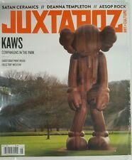 Juxtapoz Art Culture Kaws Park Companions Aesop Rock May 2016 FREE SHIPPING JB