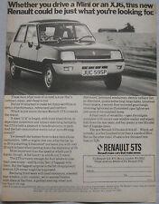 1975 Renault 5TS Original anuncio No.1