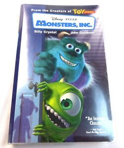 Monsters, Inc. VHS Movie 2002 Clam Shell Case Fun