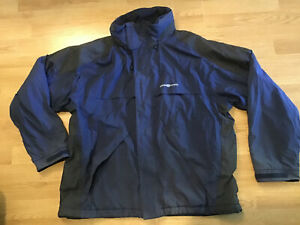 henry lloyd TP1 Jacket Mens Size Large Navy Blue
