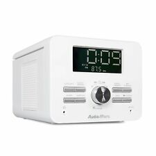 AudioAffairs CD Uhrenradio Radiowecker Küchenradio Radio CD-Player PLL UKW AUX