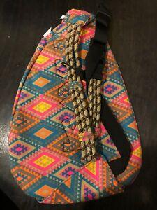 NEW - Kavu Mini Rope Sling Bag - Rhombus Rug