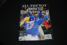 Chicago Cubs 2016 World Series November Sports Illustrated Magazine NEW No Label